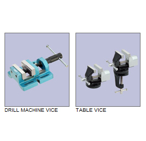Vices - Drill Machine & Table Types