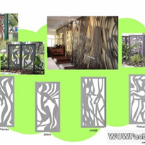 Landscape Design - Standard Designs Laser Cut Panels