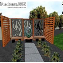 Garden Design - Garden Art Courtyard