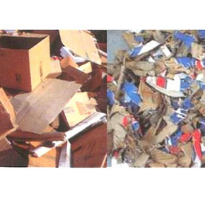 Waste Recycling - Cardboard / Packaging