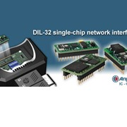 Anybus-IC Single Chip - Embedded DIL-32 chip solutions for industrial Networks