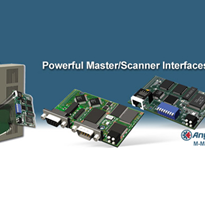 Anybus-M Master - Embedded Master/Scanner interfaces for industrial networks