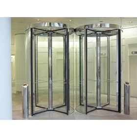 Security Door - Security Revolving Doors