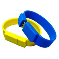 USB Flash Drive - Wristband USB Flash Drives