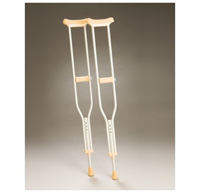 Aluminium Adjustable Crutches