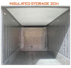 Refrigerated Container - Insulated Containers