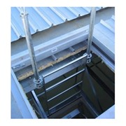 AM-BOSS Steel, Rung, Ceiling Space Access Ladder