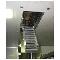 AM-BOSS All Metal Pull-Down Access Ladder