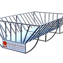 Hay Feeders - Cradle Hay Feeder Double