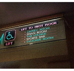 Signage - Variable Message Signs