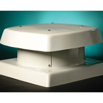 Hooded Roof Fans Curb Base + Roof Ventilation - Supply or Extract