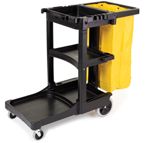 Janitor Cart & Cleaning Trolley | RCP