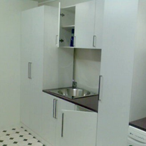 Laundry Cabinets - Laundry Bathroom