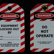 Safety Tags - Lockout Tags