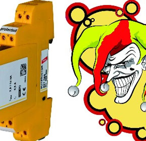 BLITZDUCTOR XTU 'Joker' IT and Networking Surge Protection Device