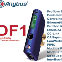 "Anybus Communicator Gateway Family with Rockwell ""DF1"" Serial Protocol"