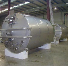 Stainless Steel Mixing Tanks - 15000lt