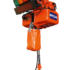 Nitchi Hoists with Load Indication