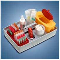 Safety Trays for Blood Collection | Test Kits
