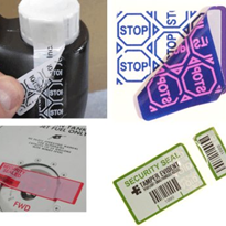 Security Labels - Tamper Evident Labels