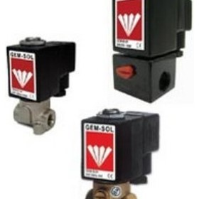 "Direct Operated 1/8"", 1/4"" 2/2 Way NC, NO Solenoid Valve"