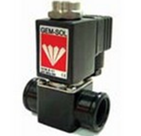 "Chem-Sol 1/2"" 2/2 Way NC Solenoid Valve"