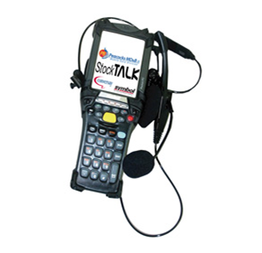 Peacocks MD&B Voice Picking solution - StockTalk