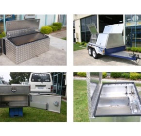 Aluminium Fabrication - Toolboxes and Roof racks