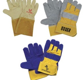 Industrial Safety Supplies - Leather Gloves