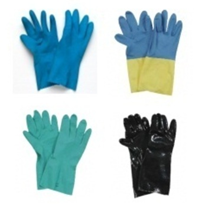 Industrial Safety Supplies | Rubber Gloves