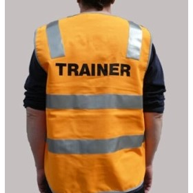 Hi-Vis Day Night Trainer Vest