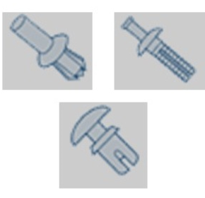 Moulded & Spring Steel Fasteners | Panel Fasteners
