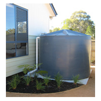 Gutter Mesh System For Water Tanks