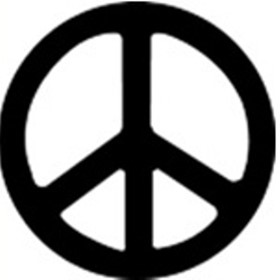 Decal | Peace Car Sticker
