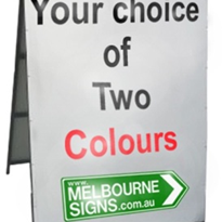 Sandwich Board | A-frame 2 Colour