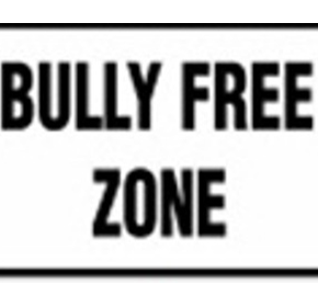 School Sign | Bully Free Zone