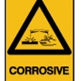Warning Sign | 'Corrosive'