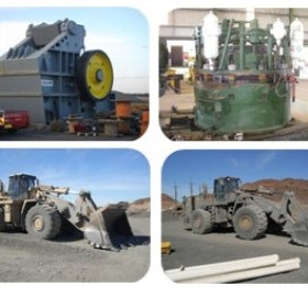 Mining Equipment | Surplus Crushers & CAT Loaders