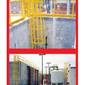 Industrial Building & Construction | Composite Handrail & Ladder
