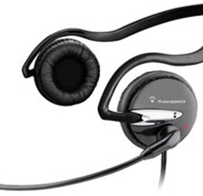 PC Headset with Volume & Mute Control | Plantronics Audio 610 USB Monaural