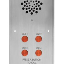 Direct Dial Intercom System - Four Buttons