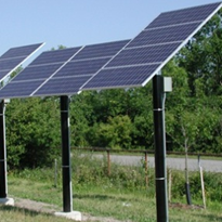 Solar Pole Mounting | Remote Power Systems