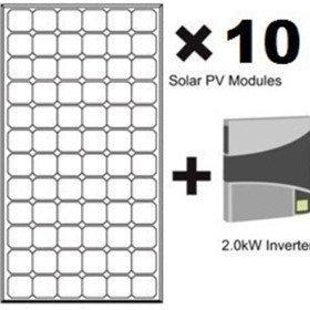 Solar Power Kits | Green Pack 1.90kW