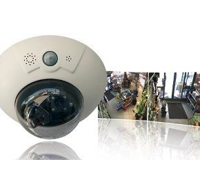 CCTV Security Camera | Hi Res | DualDome D12