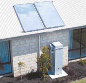 Solar hot water panel | Streamline