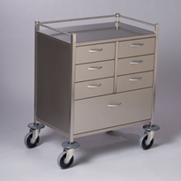 Resuscitation Trolley | 7 Drawers