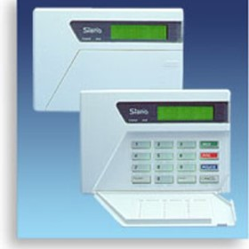 Electronic Security Systems - LCD Keypads | Sierra Panels