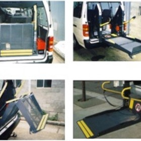 Wheelchair Lift | Ricon KlearVue K2005