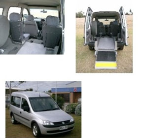 Wheelchair Access Vehicles Hire