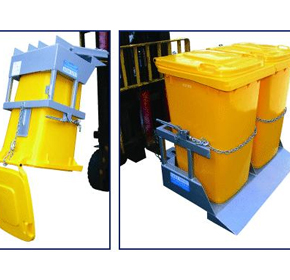 NWB-T Wheelie Bin Tipper from Optimum Handling Solutions